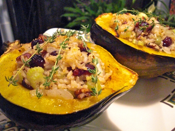 Autumn Harvest Acorn Squash